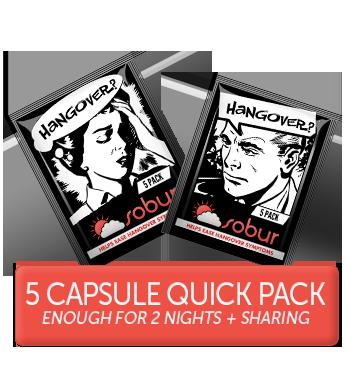 5 sobur hangover cure pills