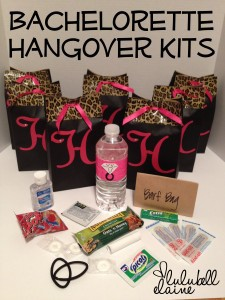 Hangover kits to cure hangovers have the best year ever bachelor hen party hangover kit solutioingenieria Choice Image