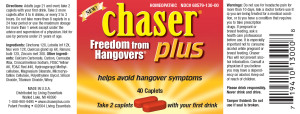Chaser Plus Bottle Label