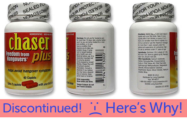 Chaser Plus Discontinued