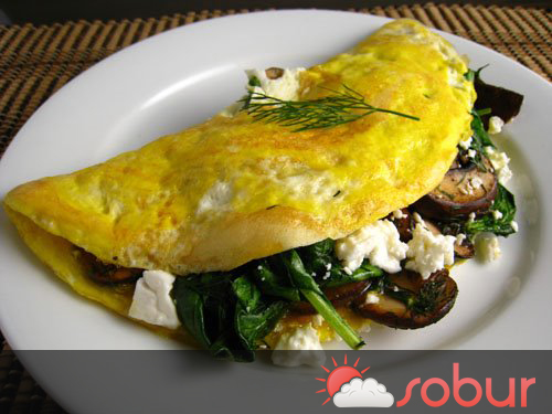 Baby Spinach Omelet Recipes — Dishmaps