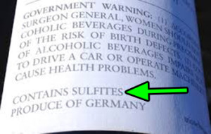 Contains Sulfites