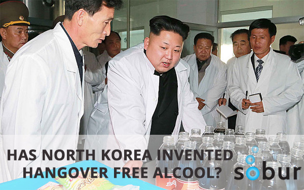 North Korea allegedly invents Hangover Free Alcohol