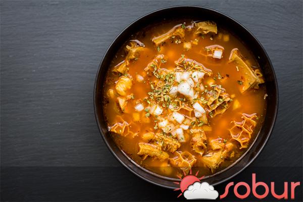 mexican tripe soup