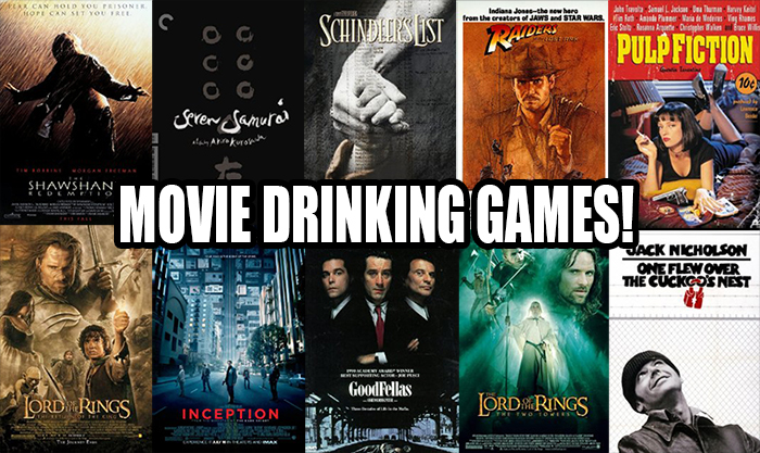 Movie Drinking Games
