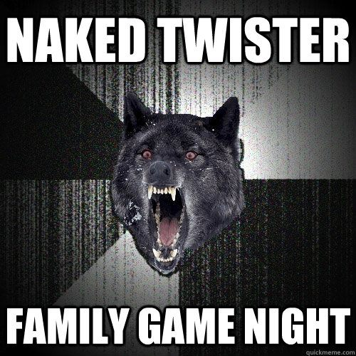 naked twister game wolf