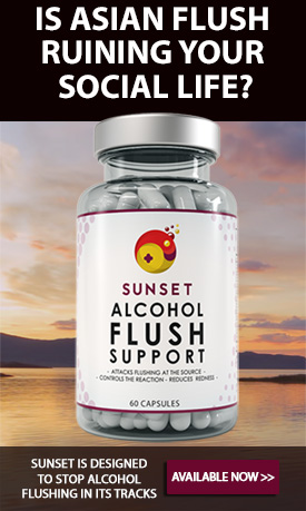 Sunset Alcohol Flush Supplement