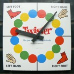 Twister spinner board